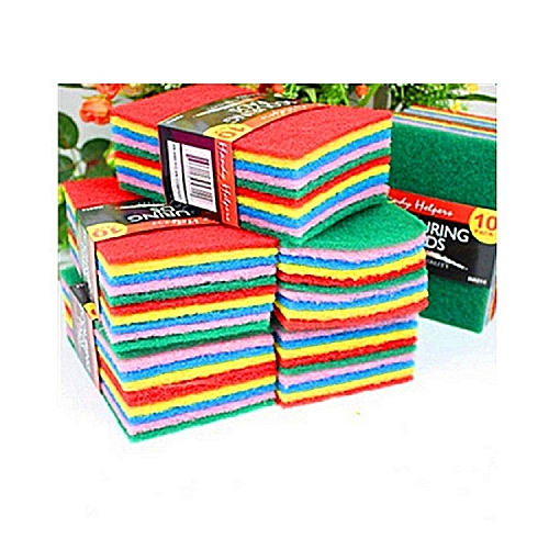 Scouring Pads - Pack Of 10