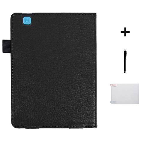 Magnetic Auto Sleep Leather Cover Case For KOBO Arua Edition 2 EReader 6inch BK