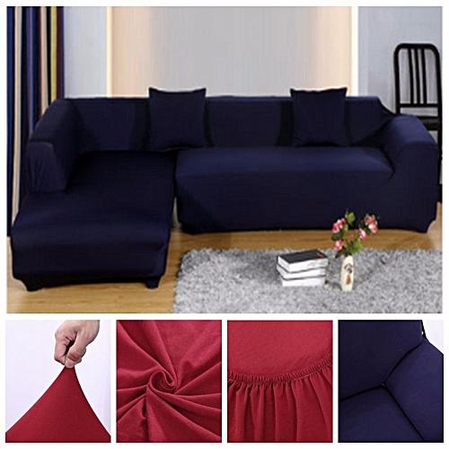 Buy Universal L Shape Stretch Elastic Fabric Sofa Cover