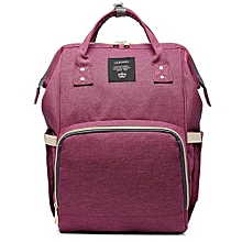 8eb54fe674 Mummy Backpack Multi-function For Mom Or Pregnant Large Capacity - Purple.