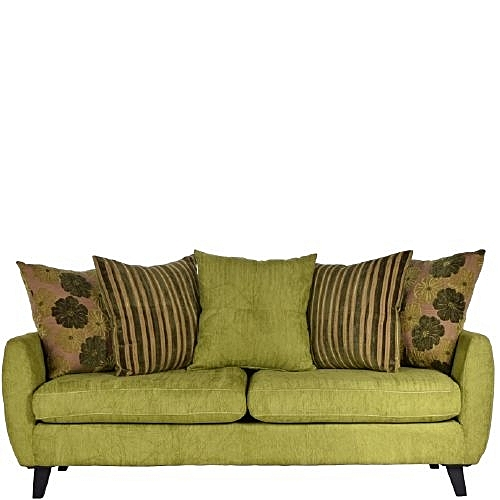 EZA 3 Seat Sofa - Green ( Delivery In Lagos Only)