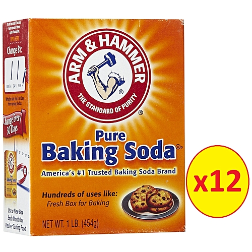 Pure Trusted Baking Soda 454g Pack Of 12