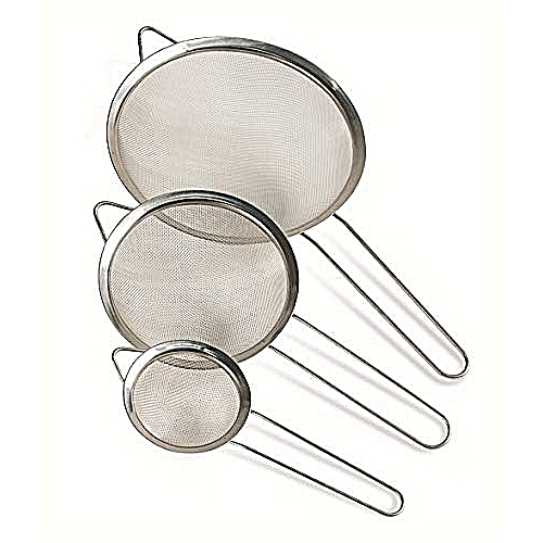 Stainless Steel Strainer (3 Pieces)