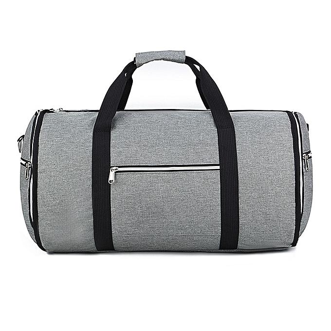 d9b8ef6ba13d Convertible 2 In 1 Garment Bag With Shoulder Strap, Luxury Garment Duffel  Bag For Men Women Hanging Suitcase Suit Travel Bags HLS