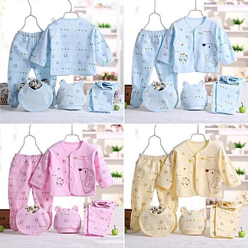 2bfd715fc5fc WEIXINBUY Newborn Infants 5Pcs Cotton Monk Shirt Pants Baby Boys ...