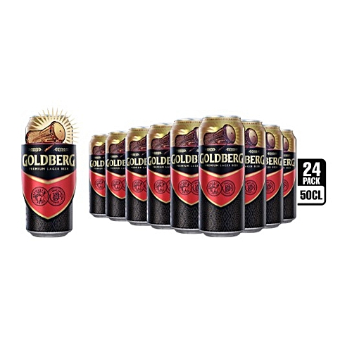 Lager Beer - 50cl Can X 24