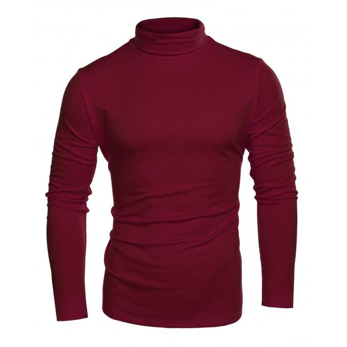 Coofandy men 39 s slim fit thermal long sleeve turtleneck for Turtleneck under t shirt