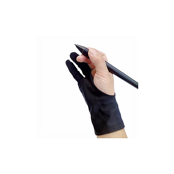 Generic Safety Glove Artist Glove For Any Graphics Tablet Black 2