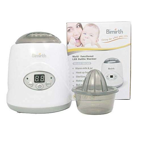 Electronic Warm Milk Sterilizer With Display Send Juicer Measuring Cup # US