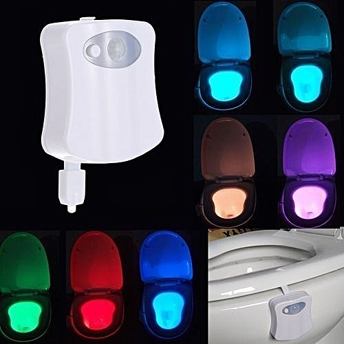 Toilet Light Bowl-Motion Activated Night Light X 2 Pieces