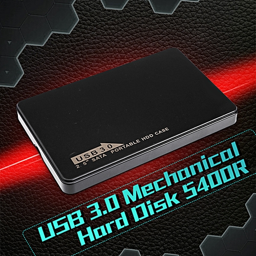 2.5'' USB 3.0 1TB Hi-Speed External Hard Drive Laptop PC Mechanical Hard Disk