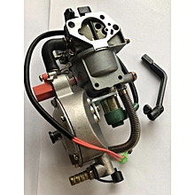 Dual Petrol & Gas Carburetors For Generators - Gas 3.6 - 9.0 Kva