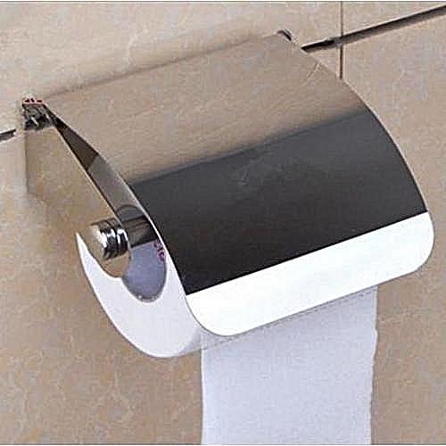 Toilet Tissue Holder - Silver