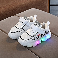 f47df830b9c46 2018 New Children  039 s Shoes LED Lights Shoes Casual Shoes Sports Shoes  Men