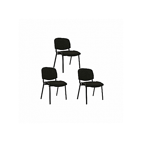 Fabric Visitor Conference Chair 3 Pcs