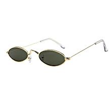 204cc04564 Eclipse Glasses Fashion Mens Womens Retro Small Oval Sunglasses Metal Frame  Shades Eyewear