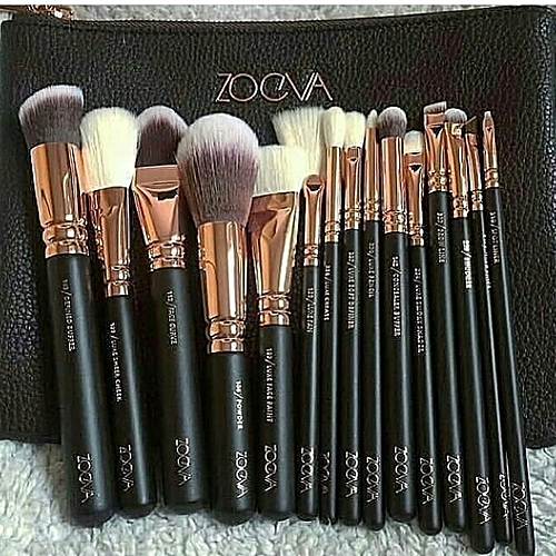 514632c468a Zoeva 15 PIECES MAKEUP BRUSH SET- BROWN | Jumia NG