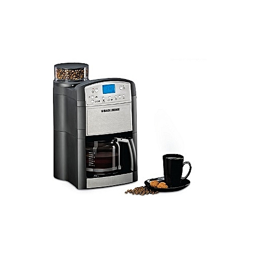 Programmable Coffee Maker With Grinder - PRCM500-B5