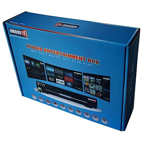 Omovo Tv Hybrid Entertainment Box