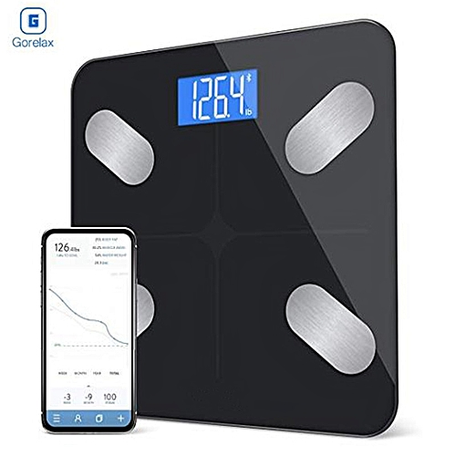 Body Fat Weight Floor Scale Scientific Digital Smart Bluetooth Weighing Scale BMI Bathroom Fitness Scale 180Kg With Backlit LCD