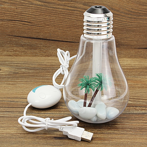 Oil Essential LED Bulb Electric Burner Aroma Diffuser Humidifier Air Purifier