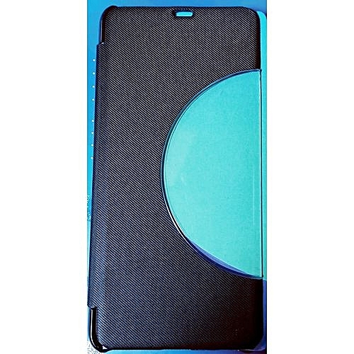 Infinix Note 5 Pro (X605) Leather Case +Free Tampered Glass