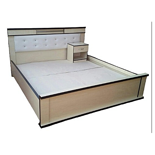 Bed Frames And Bedside Drawer - 6by6 Feet