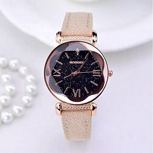 Ladies Elegant Quartz Wristwatch - Beige