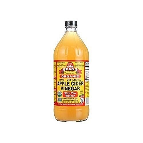 Apple Cider Vinegar Organic 946ml, 32oz (Raw/Unfiltered)