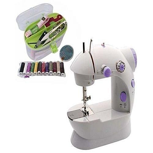 Mini Sewing Machine Plus Free Gift Of Sewing Kit