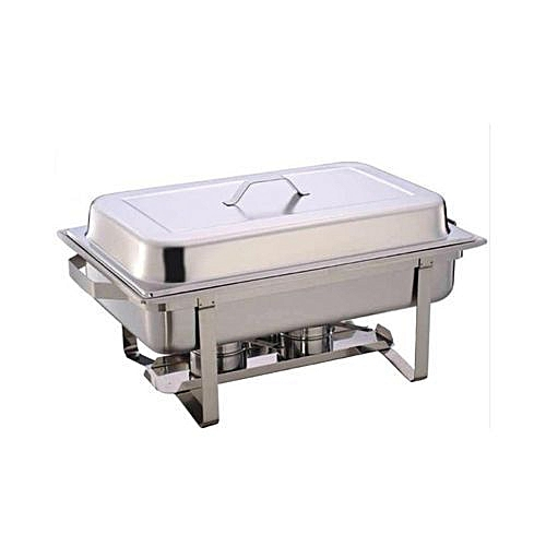 Chaffing Dish 8.5 Litres Large - Silver