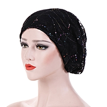 79c04110a1b Women Chemotherapy Cap Muslim Hat Colorful Head Wrap Cap