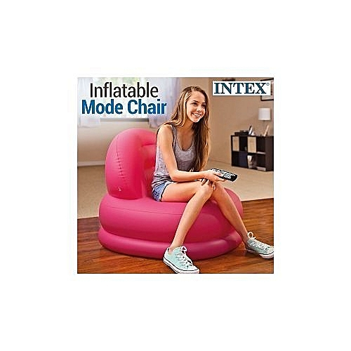 Inflatable Chair Pink