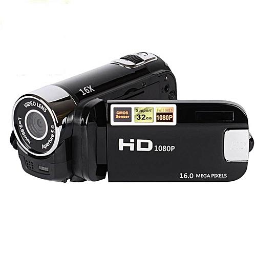 1080P HD Video Camera 2.7 Inch Screen Anti-shake Digital Camera Video Camcorder Portable Outdoor DV RELAXING