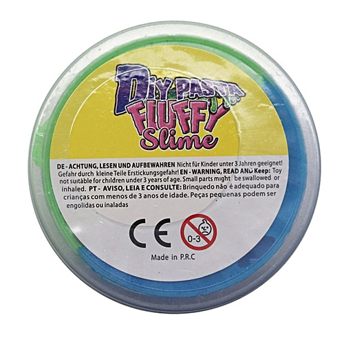 Slime Mud Decompression Release Mud Jelly DIY For Children Toys Gifts Blue&green