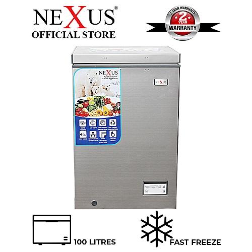 100-Litres Chest Freezer NX-150H - Silver