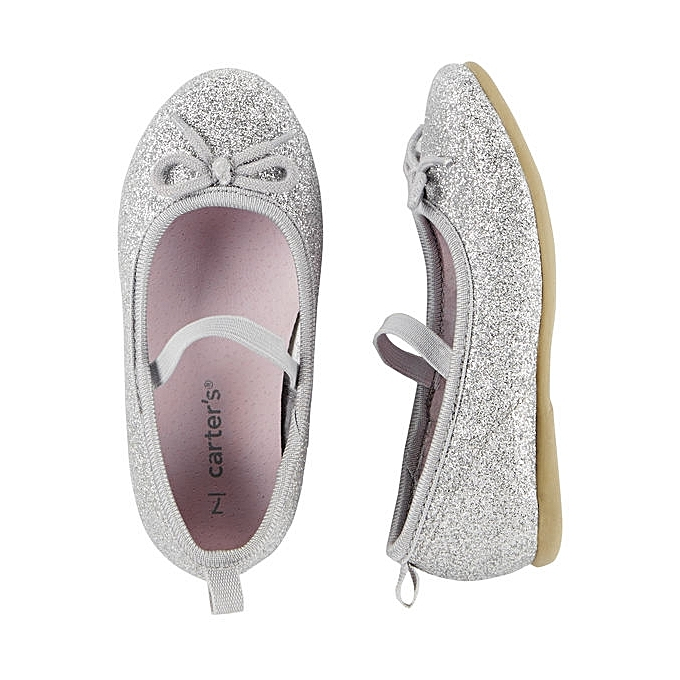 c11a7aae8e49 carter s Glitter Ballet Shoes