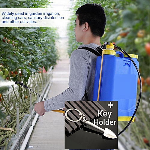 Domestic Agric Garden Farm Chemical Manual Back Knapsack Fumigation Sprayer - 16 Litres..