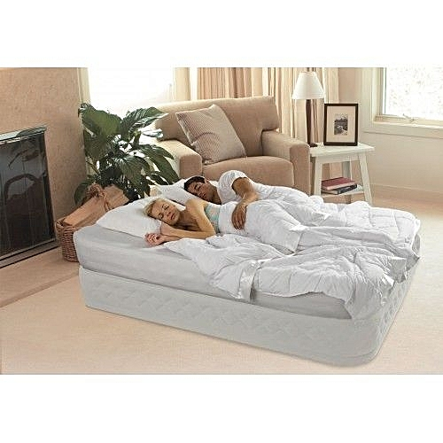 Supreme Air-Flow Airbed With Built-in Electrical Air Pump
