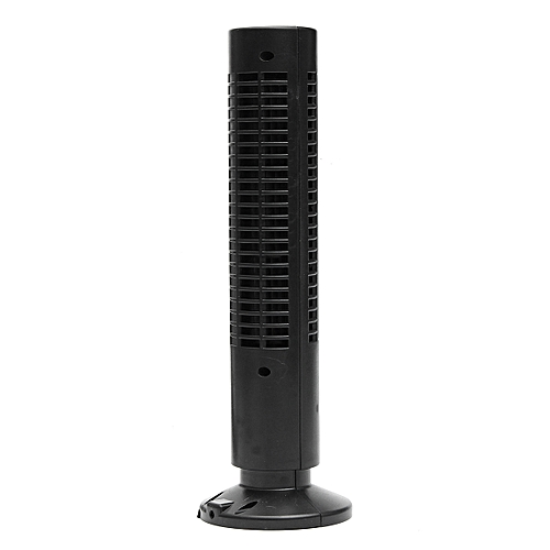 Mini Portable USB Tower Fan Cooling Bladeless Air Conditioner For PC Laptop