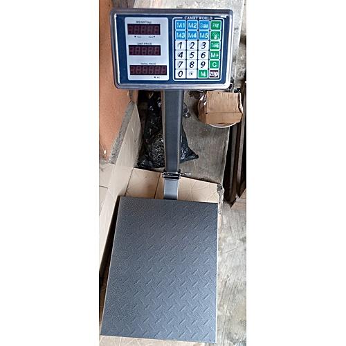 DIGITAL SCALE ELECTRONIC METAL BASE 100KG