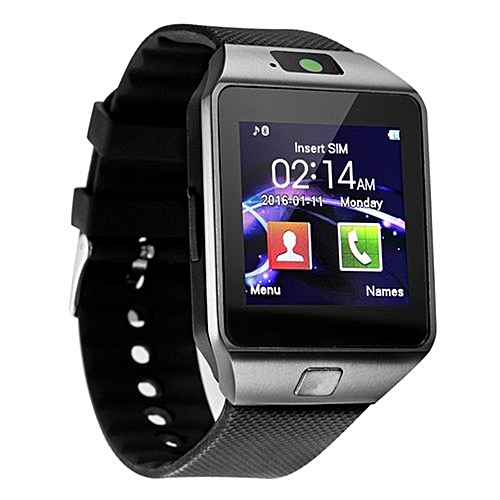 DZ09 Smart Watch Support SIM TFCard For Android Phone_Black