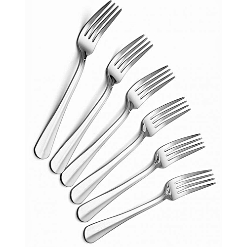 Snoq Set of 6 Stainless Steel Fork