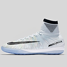 d8bfda066efe Nike Men Mercurialx Proximo II CR7 IC Soccer White852538-401