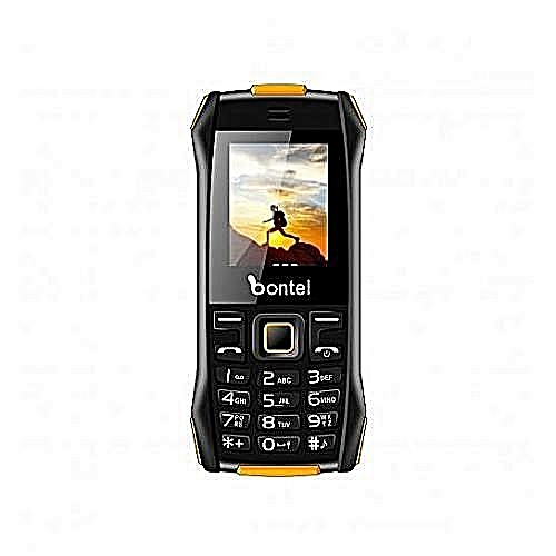 Bontel L400 Feature Phone With Big Torch Light, Cloud & 1,000 MAh Battery - Black