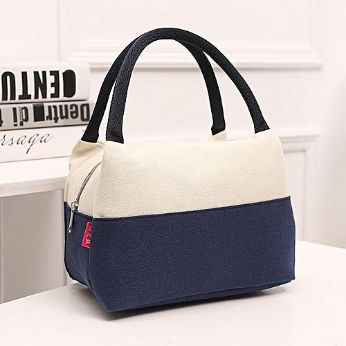 Large Capacity Woman Lady Lunch Tote Bag Travel Food Organizer Storage Bag Handbag