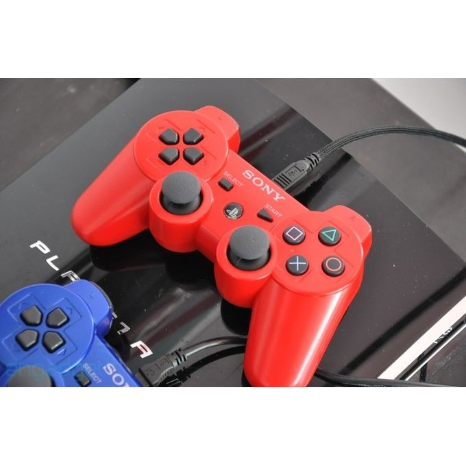 sony ps3 dualshock 3 wireless controller pad for official. Black Bedroom Furniture Sets. Home Design Ideas