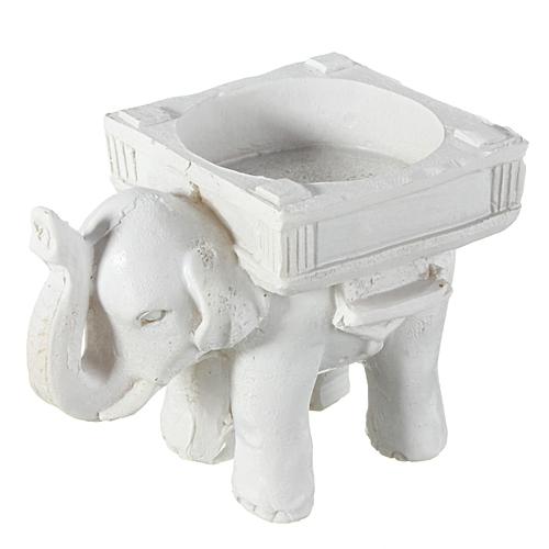 Stylish Wedding Party Bridal Decor Shower Elephant Shape Tea Light Candle Holder