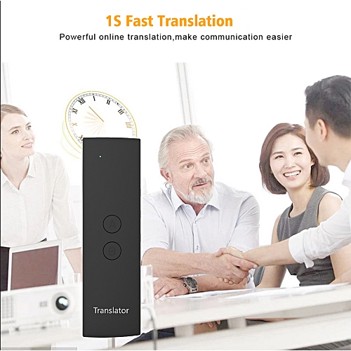 New Portable Smart Voice Translator 1 Second Fast Accurate Translation Long Standby For Meeting Study Travel Communication WAAAA