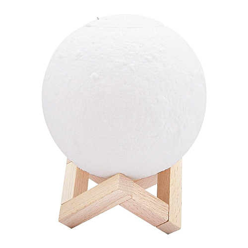 Mini Fashionable Touch Control Round Ball-pattern Humidifier With Night Light 25-35ml